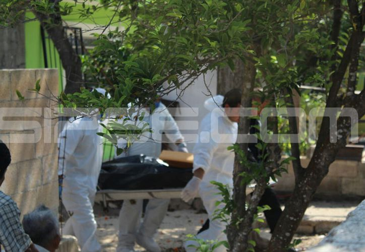 La autopsia realizada por el Servicio Médico Forense determinó que la causa de la muerte fue asfixia por suspensión. (SIPSE)