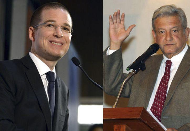 La revista asegura que se necesitan agallas,  para desafiar al precandidato de Morena, López Obrador. (Foto: Redacción)