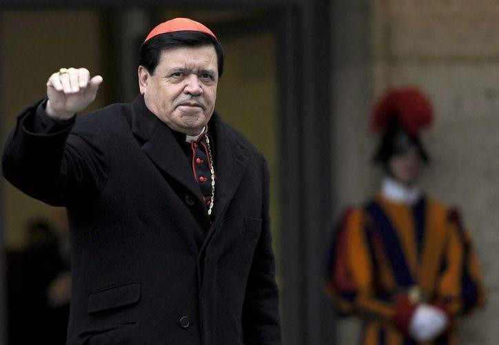 El cardenal Norberto Rivera hizo el llamado a seis días de que se realice en la Ciudad de México una marcha en contra de los matrimonios gays. (Archivo/EFE)