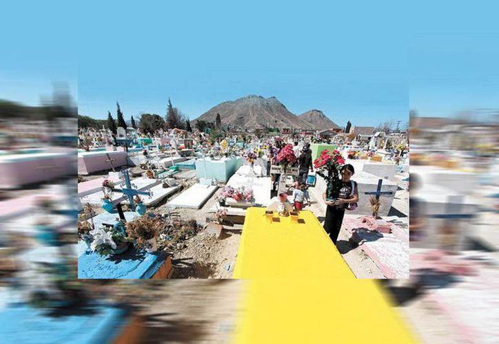 Cementerio general de Saltillo, donde fueron desenterrados los cuerpos de la trágica historia. (Jorge Moreno/SIPSE)