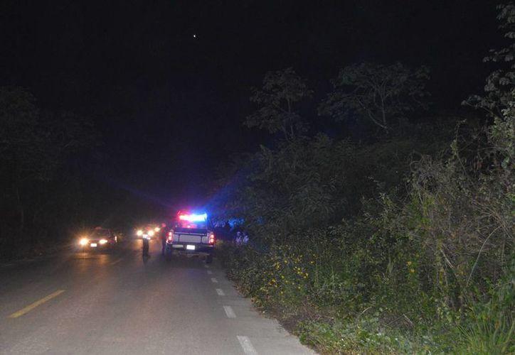 Este domingo se halló el cuerpo del que se presume es la primera víctima de la delincuencia organizada. (Redacción/SIPSE)