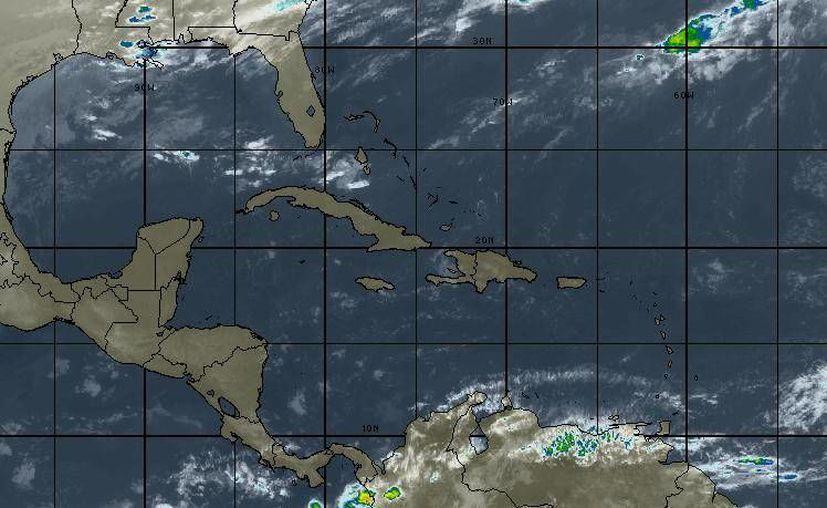 En la Península de Yucatán se mantendrá el cielo de despejado a medio nublado. (Intellicast)