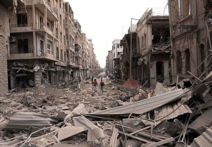 La ciudad de Hama permanece bajo el control del gobierno, pero la oposición ganó terreno en la provincia, apoderándose de 11 aldeas. (20 Minutos).