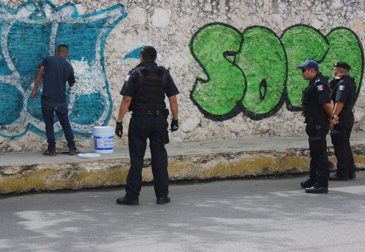 La persona que sea sorprendida pintando grafitis será castigada con arresto y reparación del daño. (Milenio Novedades)