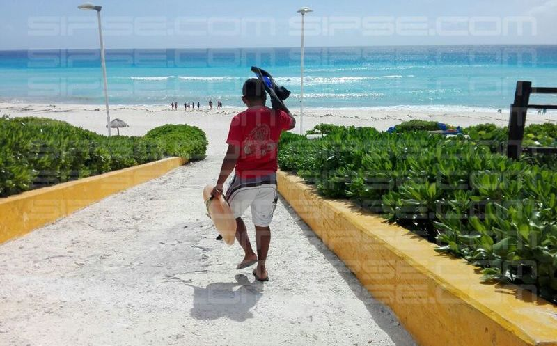 Resienten playas de Q.Roo fenómeno atípico por
