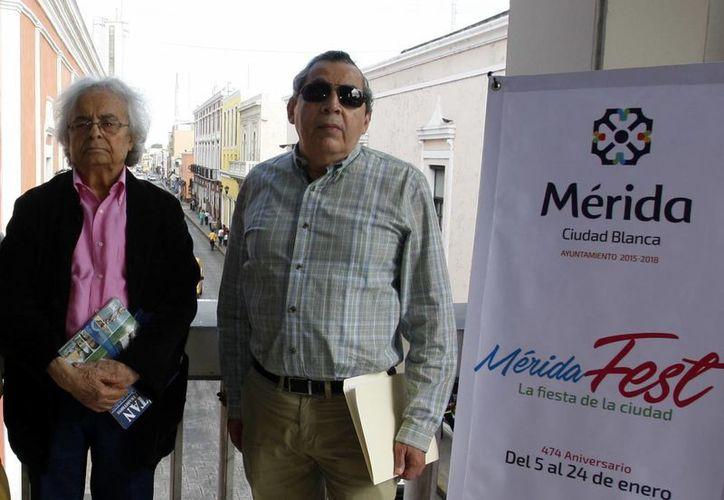 El poeta presentará la conferencia que lleva por título 'Poesía y realidad del mundo árabe' dentro del marco de festividades del Mérida Fest.(César González/SIPSE)
