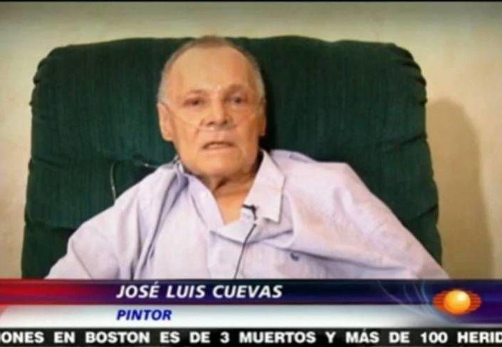 En el Noticiero de Joaquín López Dóriga se presentó un video con las declaraciones de Cuevas. (MILENIO)