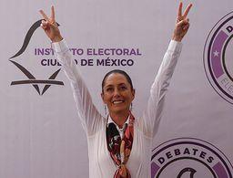 Ganamos: Claudia Sheinbaum se declara vencedora