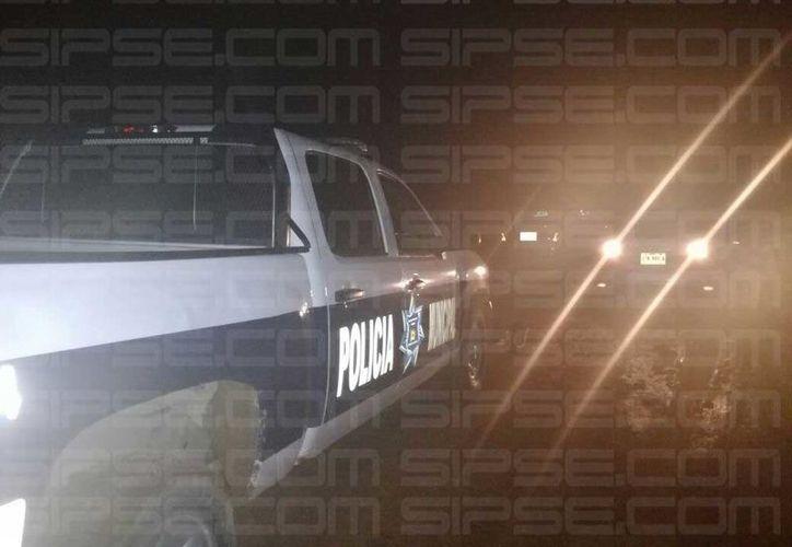 Al lugar arribaron las autoridades municipales para realizar las investigaciones correspondientes. (Redacción/ SIPSE)