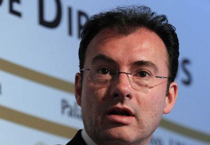Los funcionarios trabajarían en coordinación con Videgaray, Secretario de Hacienda. (Notimex)