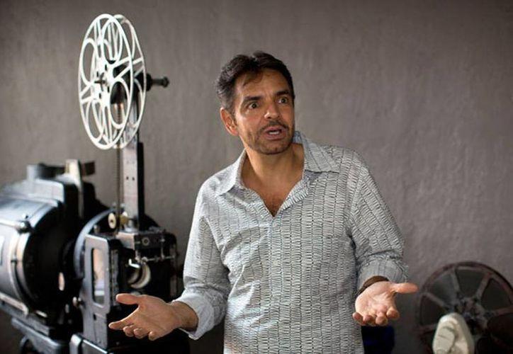 Eugenio Derbez posa para un retrato durante una entrevista en la Ciudad de México. (Agencias)