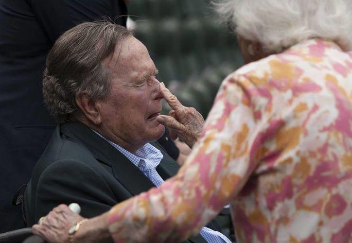 El expresidente ha sido hospitalizado en diversas ocasiones durante los últimos años por diferentes motivos. (Archivo AP/George Bridges)