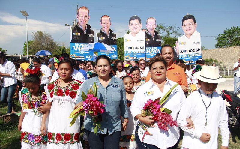 Con Ricardo Anaya como presidente se reconocerán diferencias regionales, afirma la candidata al Senado, Mayuli Martínez. (Foto: Redacción)