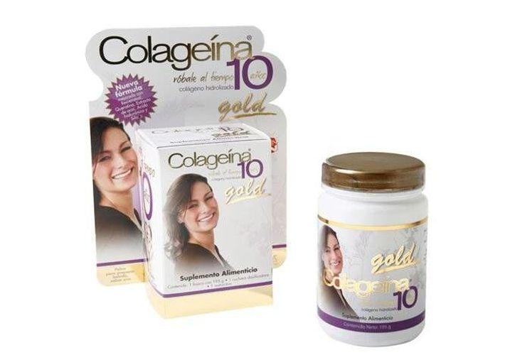 Colageína 10 Gold, dijo, no acreditó la veracidad de la publicidad con la que se ofrecía este producto. (sears.com.mx)