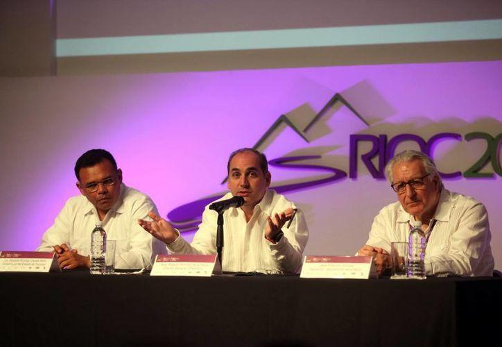 Ayer empezaron los trabajos de la 10ª Asamblea General Mundial de la Red Internacional de Organismo de Cuenca (RIOC) 2016 en Mérida. (Milenio Novedades)
