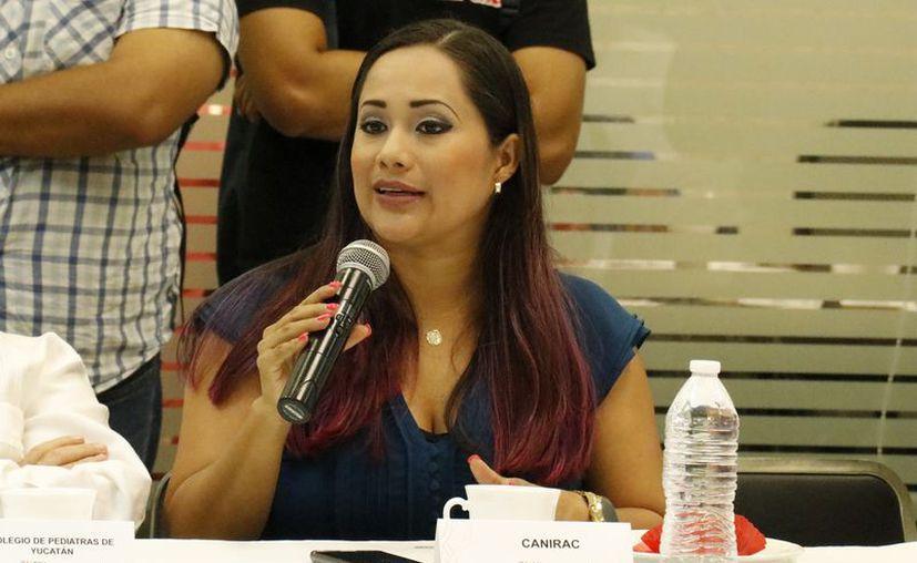 Alejandra Pacheco Montero, presidenta de la Canirac. (Foto: Milenio Novedades)
