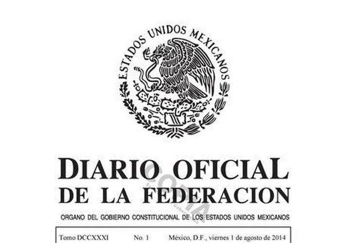 Cada ejemplar impreso del Diario Oficial de la Federación tiene un costo de $16.00 pesos. (dof.gob.mx)