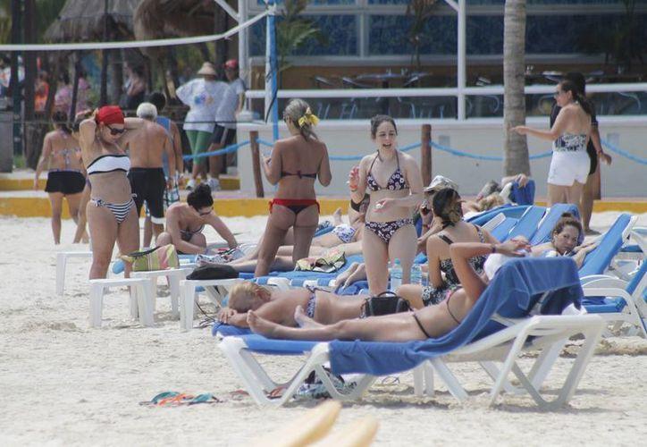 Crece número de visitantes argentinos en este destino. (Israel Leal/SIPSE)
