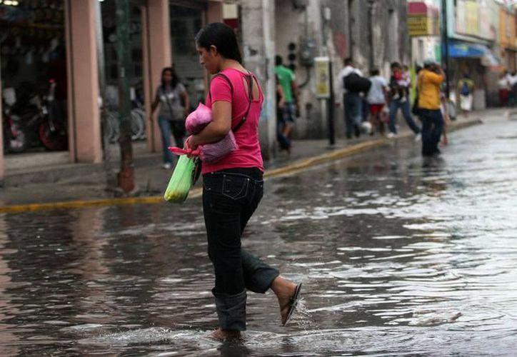 Para este día se espera que durante la tarde una vaguada sobre el centro de la Península de Yucatán favorecerá el  potencial para chubascos en el noroeste y centro de Yucatán. (Archivo SIPSE)