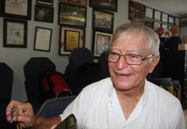 Mario Pinto cuenta actualmente con 73 años. (Consuelo Javier/SIPSE)