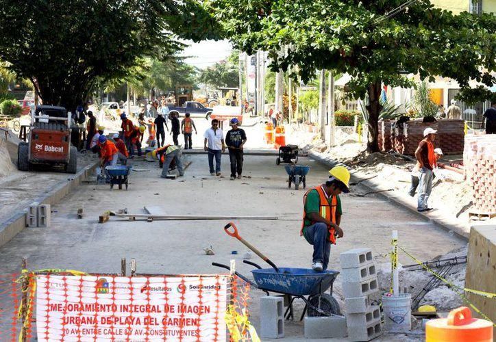 En marzo próximo se espera recibir los recursos federales para la pavimentación de calles en el municipio de Solidaridad. (Redacción/SIPSE)