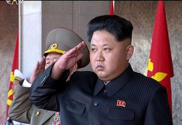 """Líder norcoreano Kim Jong-Un denuncia que el actual jefe de Estado no ha cumplido """"una sola"""" de sus promesas a la hora de 'abolir las armas nucleares' en el mundo. (Agencias/AP)"""