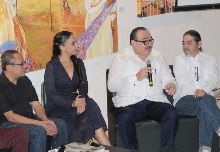 Ramírez Marín explicó que la obra es un referente obligado de la cultura visual de Yucatán y México. (SIPSE)