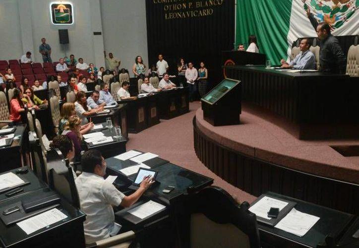 Durante el primer periodo de sesiones se leyeron 25 iniciativas y tres puntos de acuerdo. (Archivo/SIPSE)