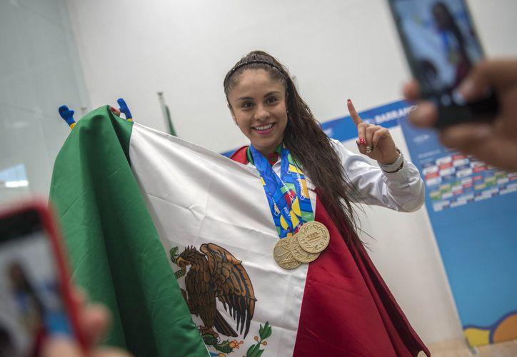 Raquetbolista mexicana Paola Longoria. (Foto:Imagen tomada de Mexsport)