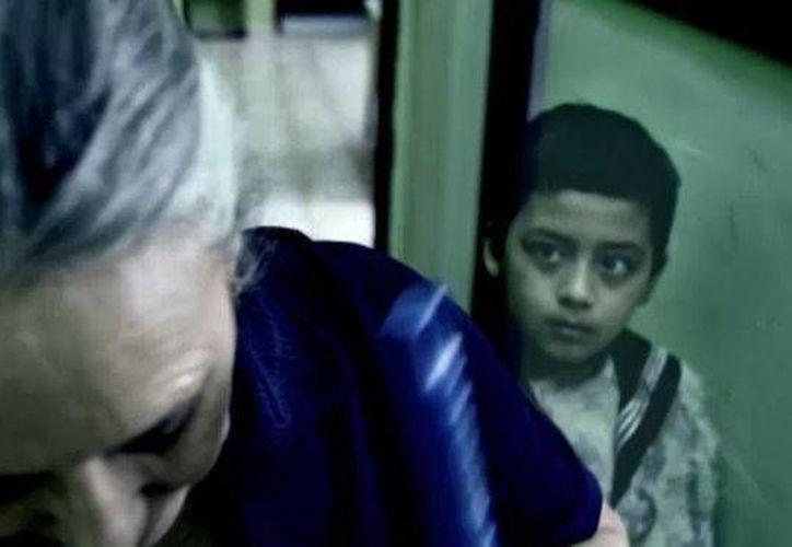 Esta es la foto tomada en las oficinas del Ayuntamiento de Mérida, donde Sergio se manifestó como niño. (Jorge Moreno/SIPSE)
