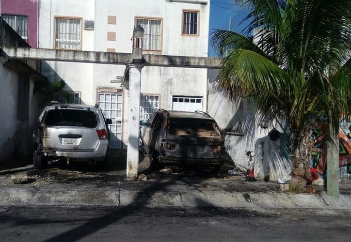 La vivienda que fue atacada se ubica en el fraccionamiento Monte Real. (Eric Galindo/SIPSE)