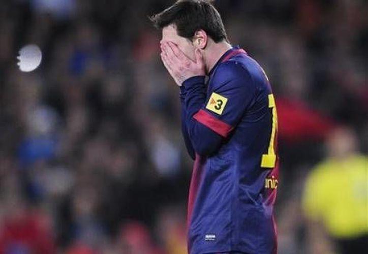 Messi tiene fiebre. (Agencias)