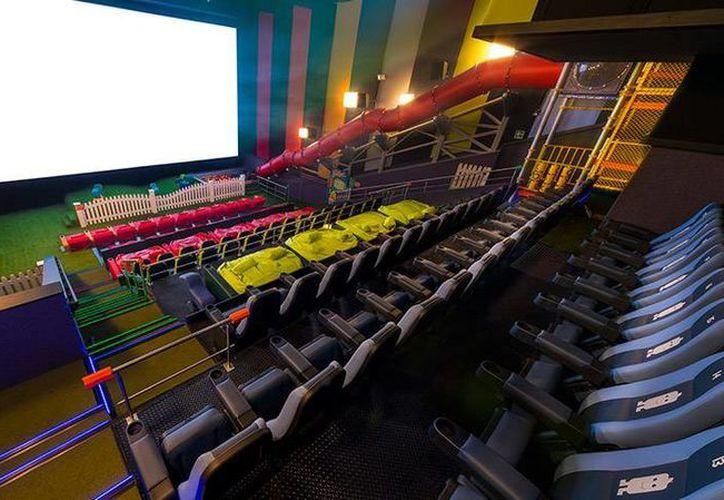 Las salas de cine se han modernizado en México y están a la altura de las mejores del mundo. (cinepolis.com.mx)
