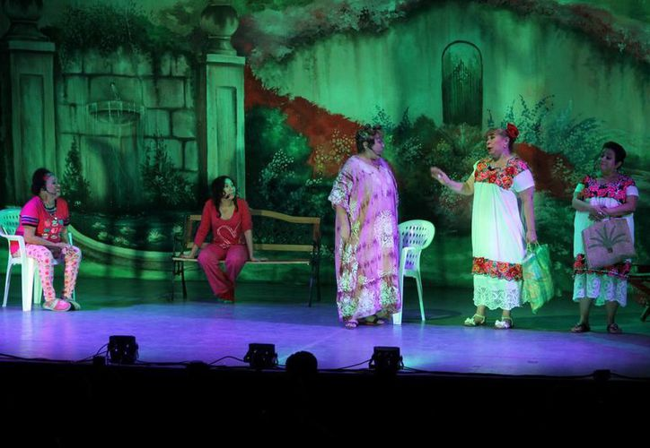 'La Huira Maravía' fue todo un éxito en el Teatro Fantasio del Centro Histórico de Mérida. (SIPSE)