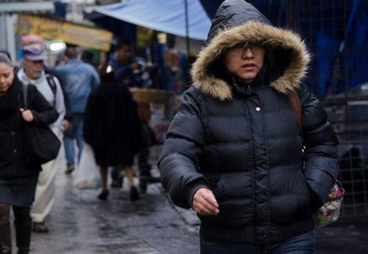 Protección Civil de la Ciudad de México informó que se activó la alerta roja por temperaturas bajas. (Milenio)