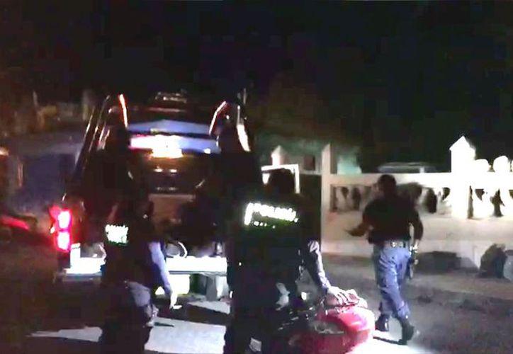 Un aparatoso operativo fue realizado la madrugada del viernes en Cozumel, sin embargo no hubo detenidos. (Redacción/SIPSE)