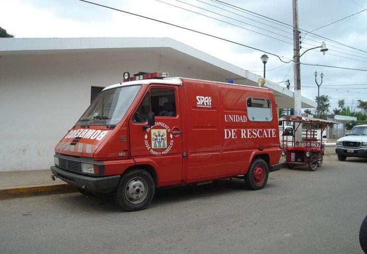 William Can Kau fue trasladado a Chetumal para recibir atención médica. (Carlos Yabur/SIPSE)