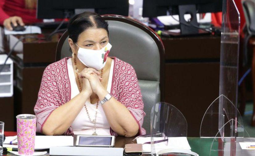 Dulce María Sauri Riancho, nacida en Mérida en 1951, fue nombrada presidenta de la Mesa Directiva de la Cámara de Diputados. (Foto: Facebook/Dulce María Sauri)