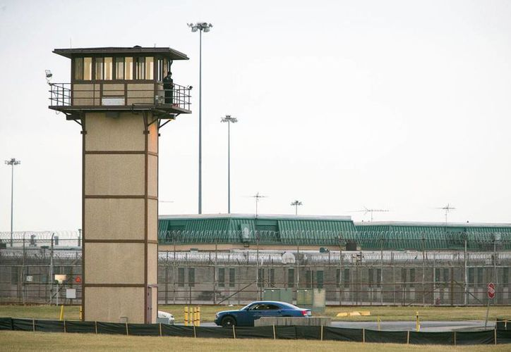 Exterior del Centro Correcional James T. Vaughn, donde el miércoles 1 de febrero se reportó un motín de reos con toma de rehenes. (Suchat Pederson/The Wilmington News-Journal vía AP)
