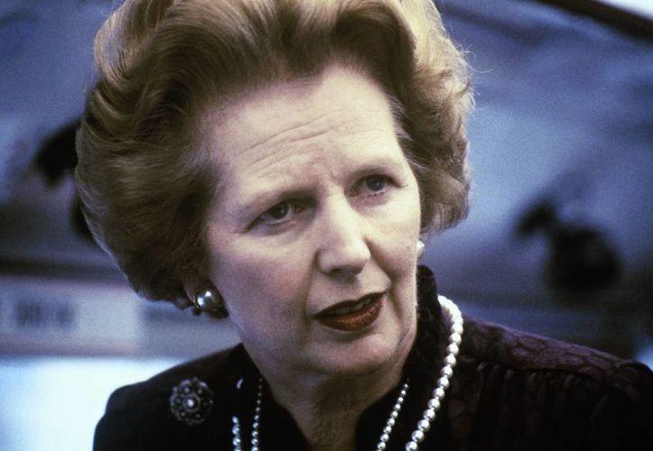 La encuesta reveló que un 33% de los británicos considera que Thatcher fue la primera ministra más importante del Reino Unido en tiempos de paz. (Agencias)