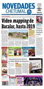 Video mapping de Javier Ortiz Bacalar, hasta 2019