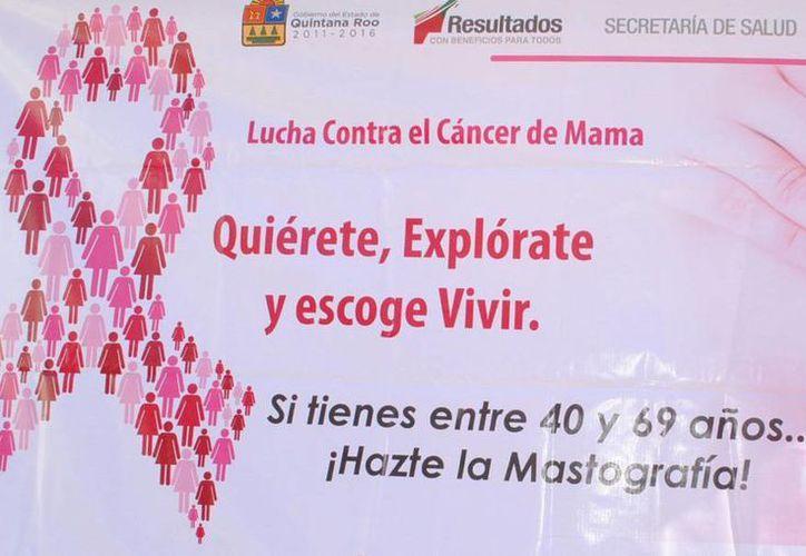 Atenderán a mujeres de entre 25 y 64 años para exploración clínica de mama, estudios de papanicolaou y prueba de detección de VPH. (Redacción/SIPSE)