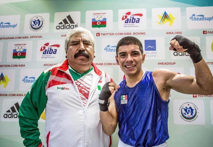 Joselito Velázquez tiene esperanzador inicio en el torneo preolímpico de box. (Ángel Mazariego/SIPSE)