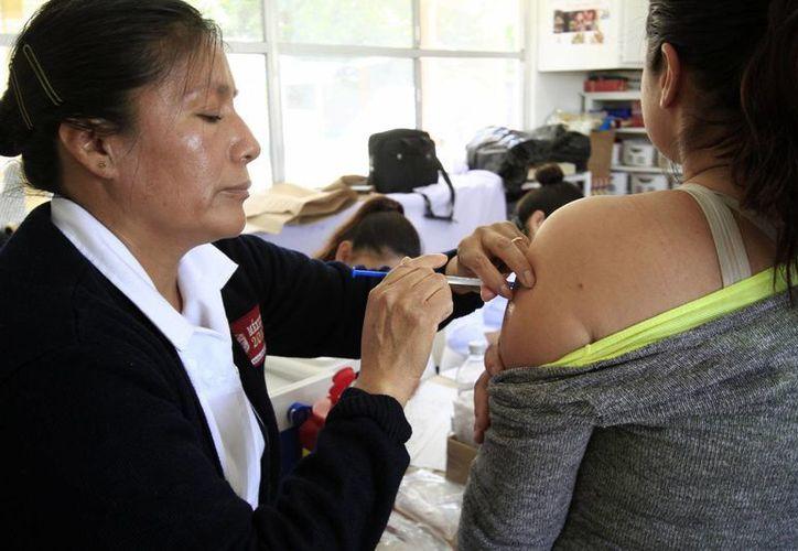 La vacuna contra el dengue se encuentra en el último estudio para su eventual autorización. (Notimex/Archivo)