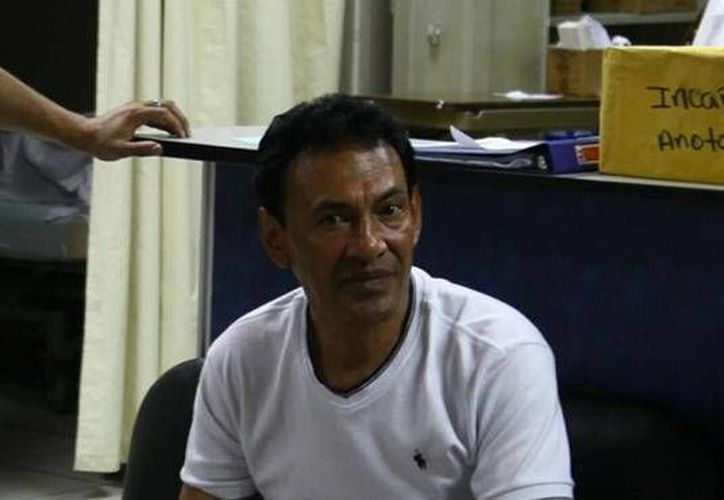 Juan Fernando Acosta convalece en el Instituto Hondureño de Seguridad Social. (laprensa.hn)
