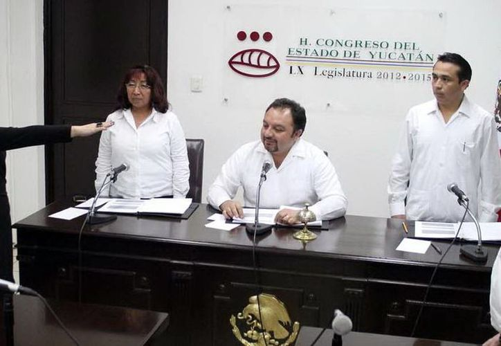 Susana Aguilar rindió protesta ante la Comisión Permanente. (Milenio Novedades)