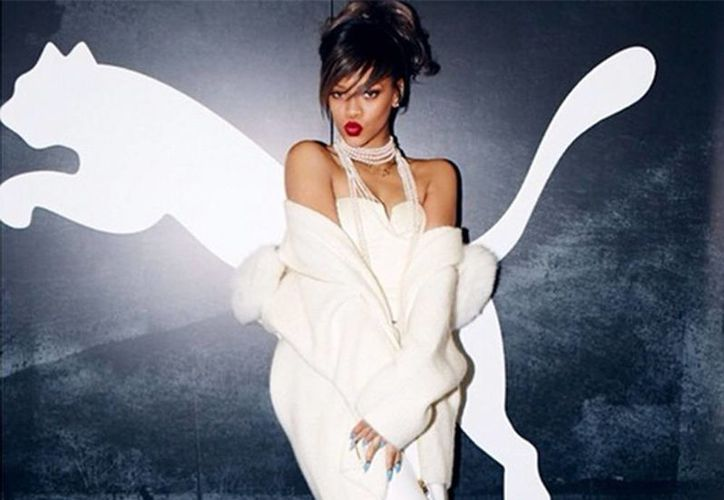 Rihanna participará junto con otros atletas como el jamaiquino Usain Bolt y el futbolista argentino Sergio Aguero en la nueva campaña de Puma. (Instagram de Rihanna)