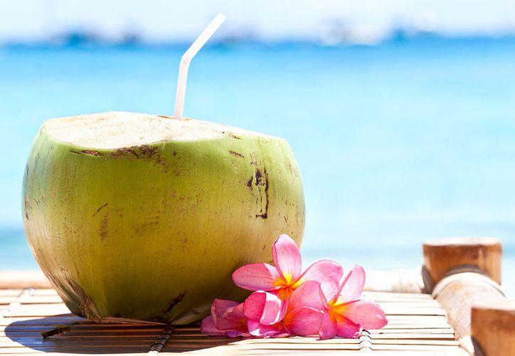 El agua de coco es ideal para saciar la sed. (Contexto/Internet).
