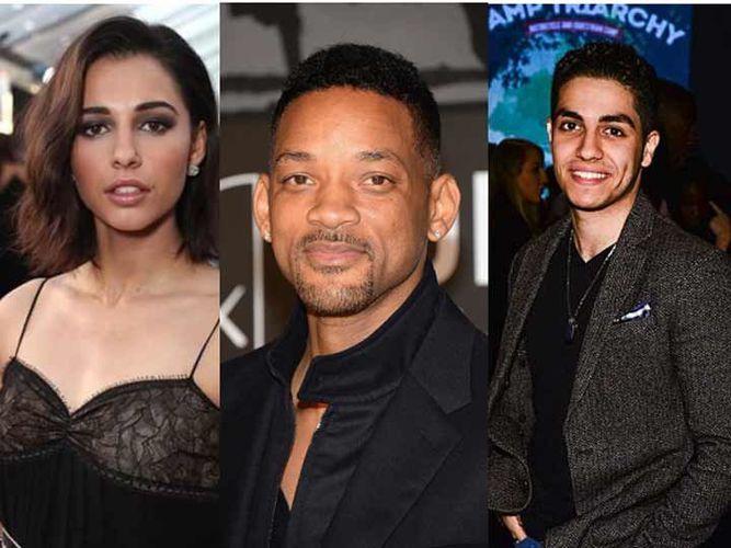 Naomi Scott interpretará a Jasmine Will Smith al Genio y Mena Massoud a Aladdín