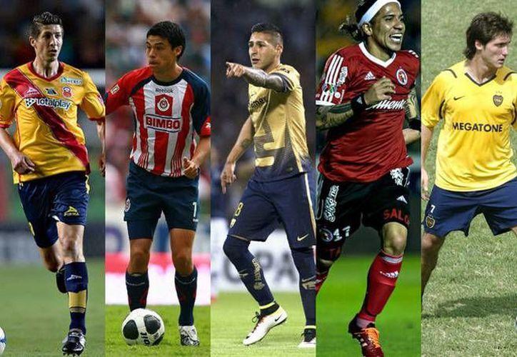 Estos jugadores, por distintas circunstancias, se negaron a formar parte de un club. (Milenio Digital/ Mexsport)